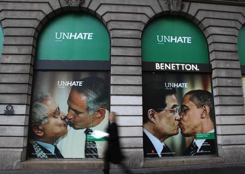 PARIS : Nouvelle campagne publicitaire de Benetton  Planète Campus