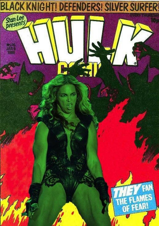 Beyoncé Hulk Mème © Bad Buzz