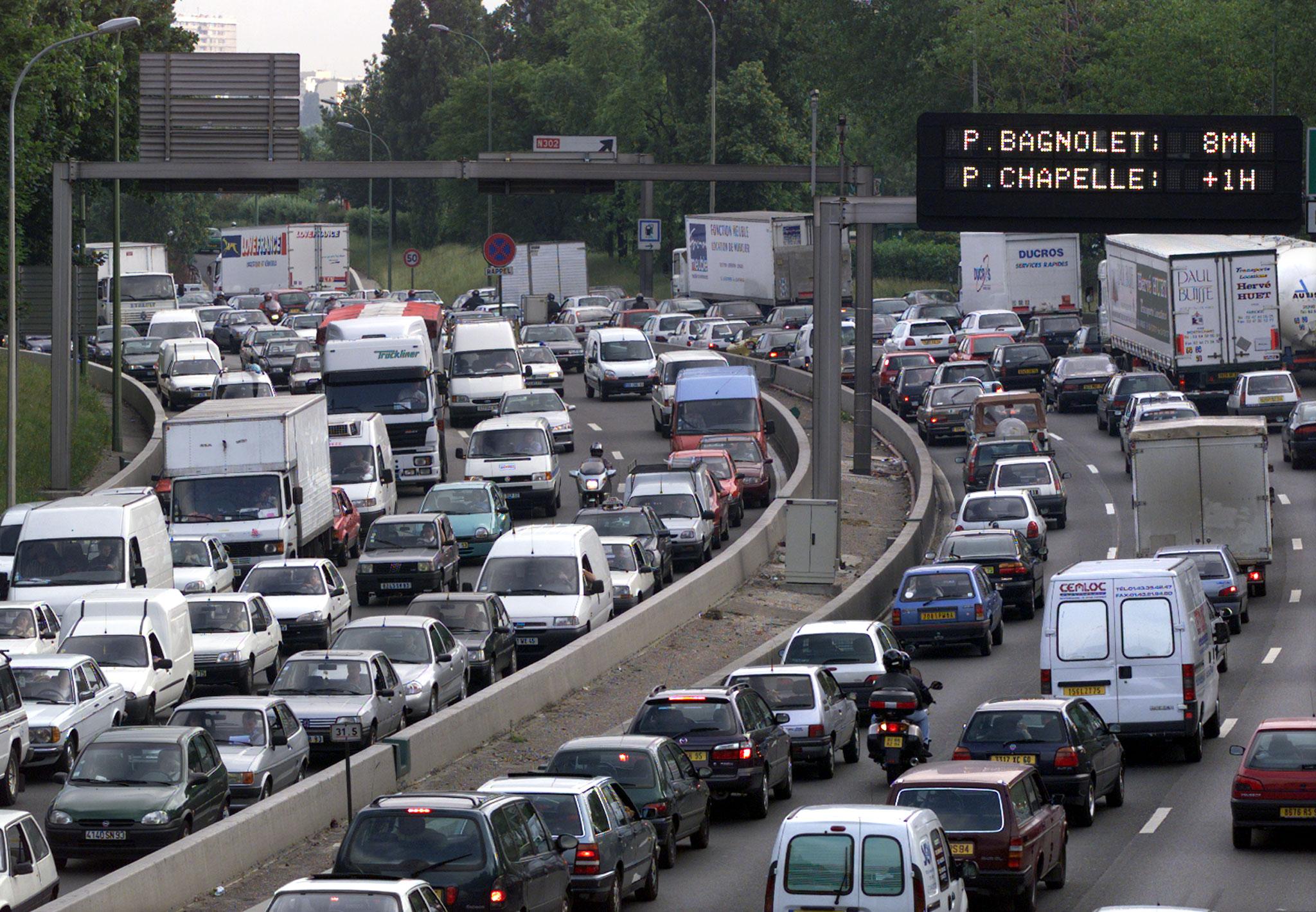 P riph rique parisien vous allez rouler encore moins vite plan te campus - Les portes du peripherique paris ...