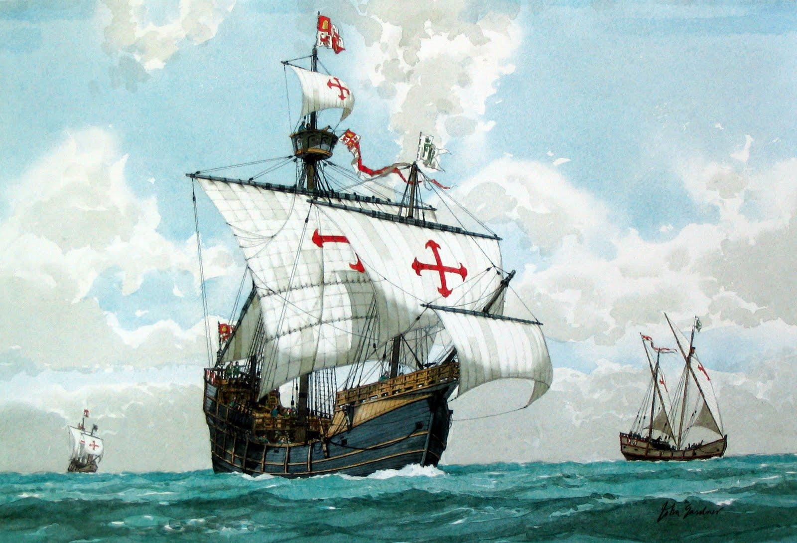 bateau de christophe colomb