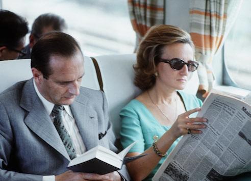 Lire dans le train