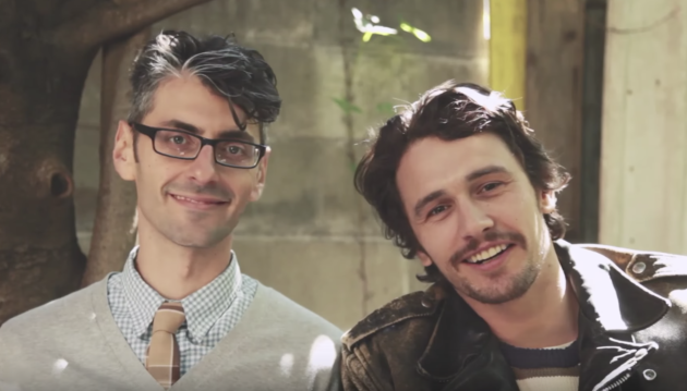 James Franco se lance dans la philo sur YouTube !