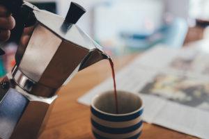 se réveiller sans café