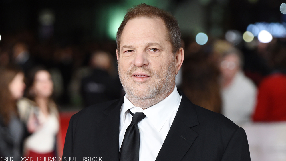 Harvey Weinstein CREDIT: DAVID FISHER/REX SHUTTERSTOCK