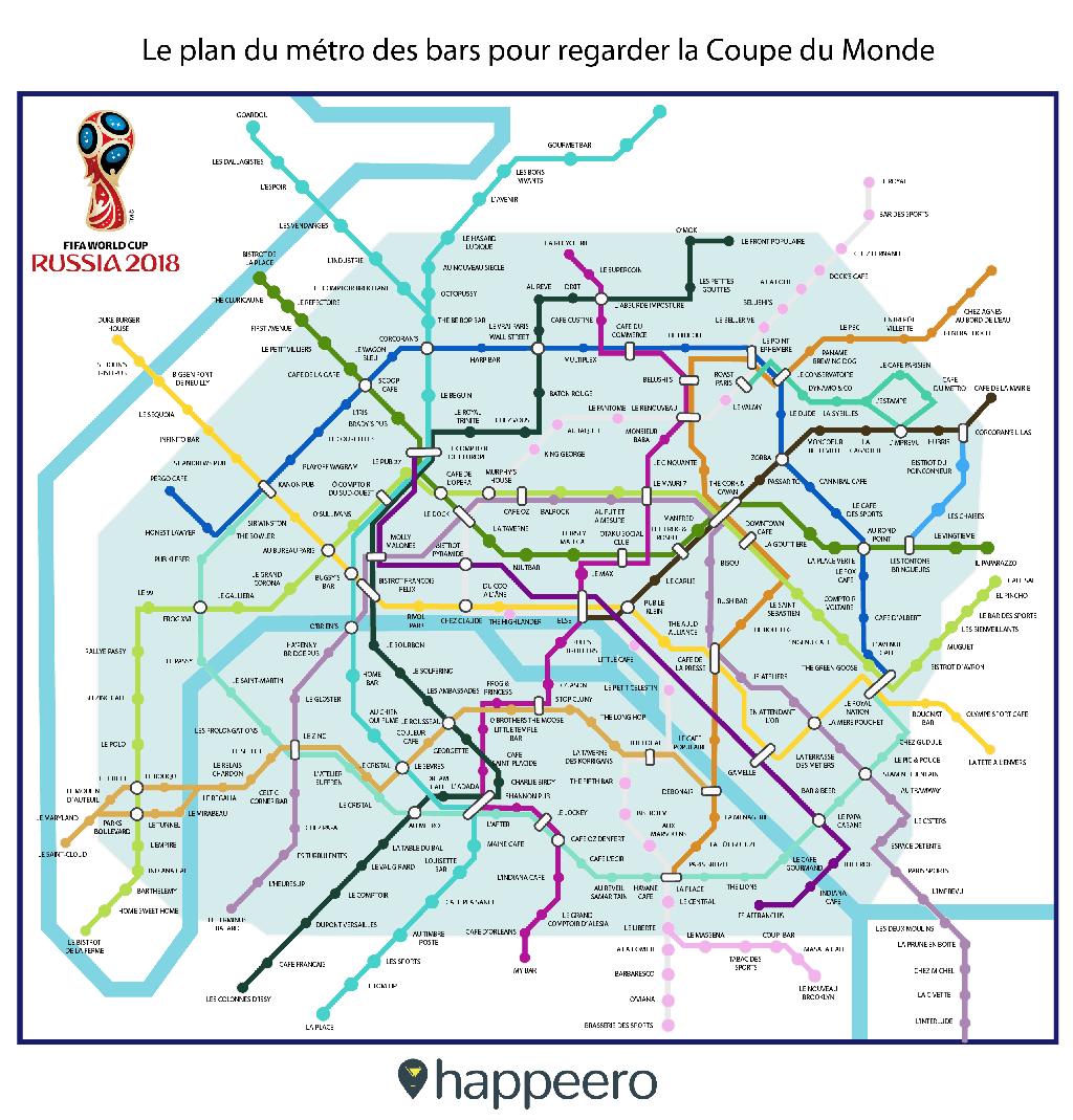 carte métro coupe du monde 2018 crédit happeero
